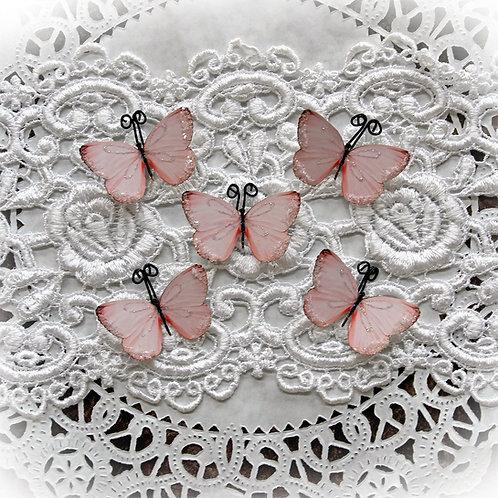 Tiny Treasures Darling Coral Premium Paper Glitter Glass