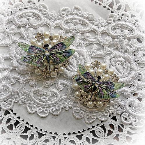 Dream Catcher Premium Paper Dragonflies