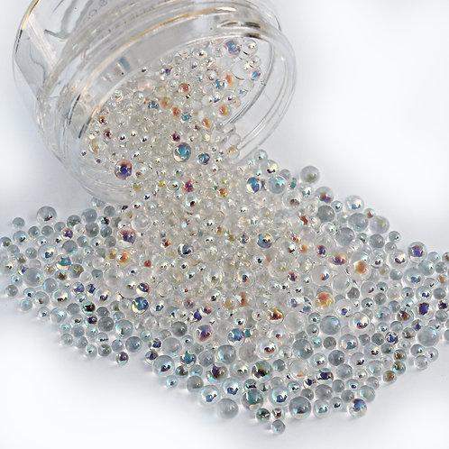 1 Ounce Beautiful Beads Designer Glass Moonstone