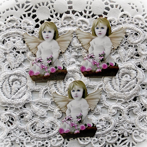 Chubby Little Cherub Fairy Premium Paper Die Cut Set