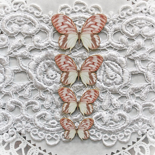 Printed Beautiful Board Lissie Butterflies Laser Cut Chipboard Set