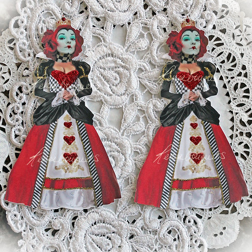 Red Queen Large Premium Paper Die Cuts~Alice In Wonderland