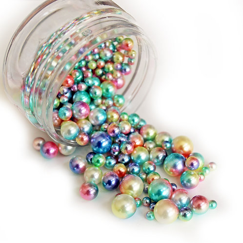 .6 Ounce Beautiful Beads Fairy Lights Iridescent Pearls