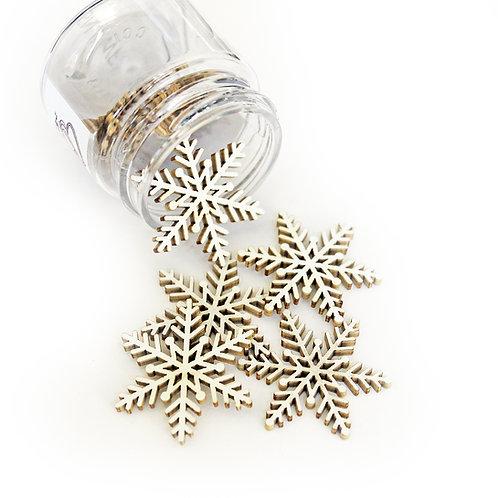 Beautiful Board Beautiful Bits - Winter Snowflakes Laser Cut Chipboard
