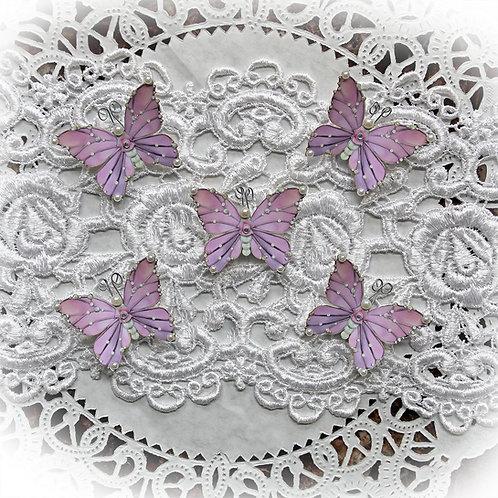 Tiny Treasures Pink Gracie Premium Paper Butterflies