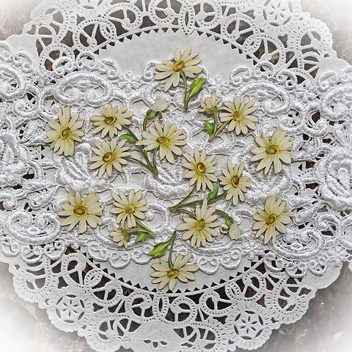 Printed Beautiful Board Large Tuck It In Sweet Daisy Laser Cut Chipboard