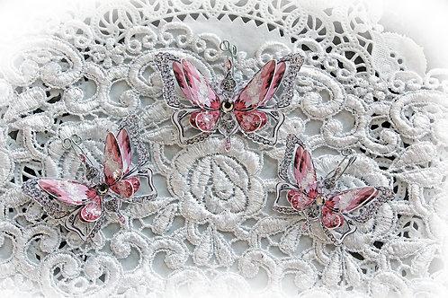 Ice Princess~Pink Butterflies