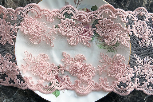Reneabouquets Trim-Soft Peach Lace 4  Wide