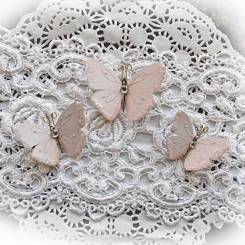 Sweet Nothings Premium Paper Glitter Glass Butterflies