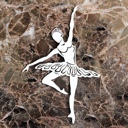 Beautiful Board Large Ballerina Chipboard