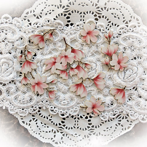 Printed Beautiful Board Large Tuck It In Cherry Blossoms Laser Cut Chipboa