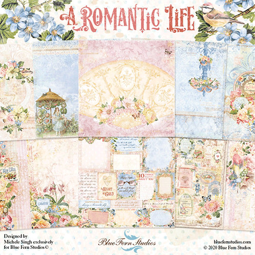 Blue Fern Studios A Romantic Life Collection 20 Papers