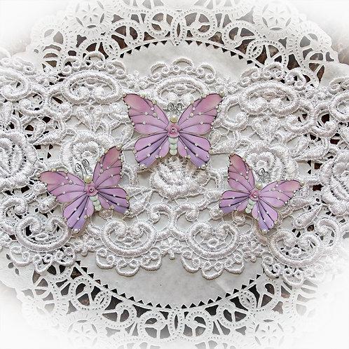 Pink Gracie Premium Paper Butterflies