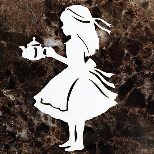 BBoard  Large Tea With Alice In Wonderland