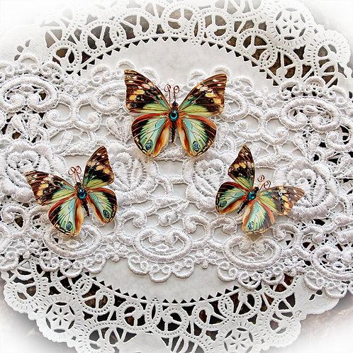 Chasing Butterflies Premium Paper Glitter Glass Butterflies