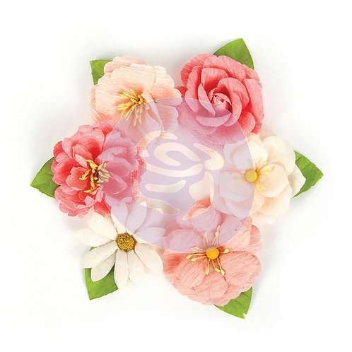 Prima Love Clippings Flowers~Sweet Lovers