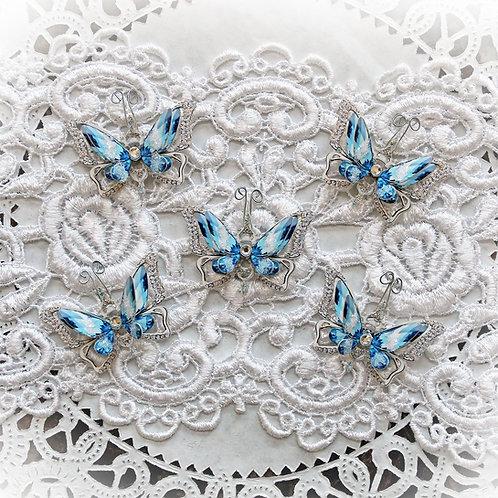 Tiny Treasures Ice Princess Anna Premium Paper Butterflies