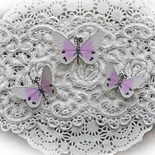 Sweet Dreams Premium Paper Butterflies In Lavender