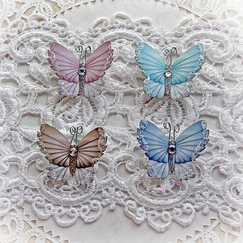 Tiny Treasures Winter Sky Mixed Colors Premium Paper Glitter Glass