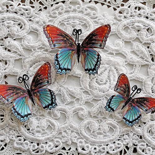 Watercolor Memory Keeper Butterflies
