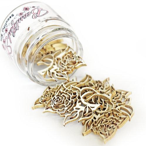 Beautiful Board Beautiful Bits - Tea Roses