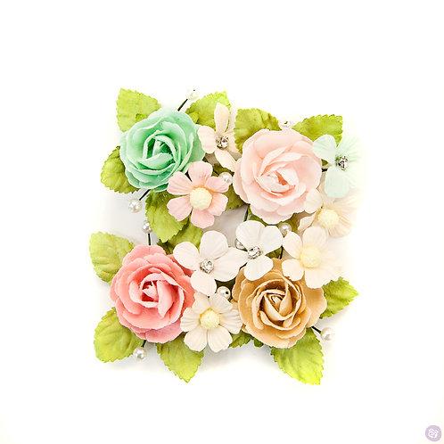Prima Marketing Misty Rose Paxton Flowers