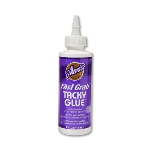 Aleene's Fast Grab Tacky Glue 4 Ounce Bottle