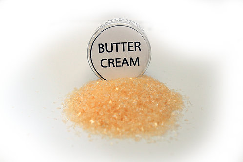 .5 Ounce Hand Tinted Buttercream Gawdie Girl Chunky Glitter Glass