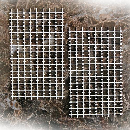 Beautiful Board Grid Elements Laser Cut Chipboard