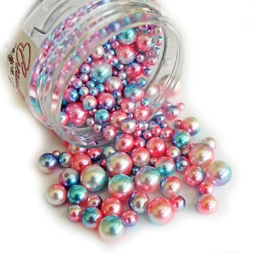 1 .8 Ounce Beautiful Beads Magic Stones Iridescent Pearls