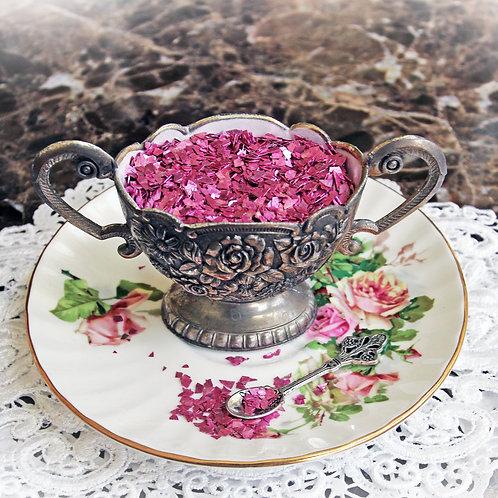 .5 Ounce Hot Pink Super Shard Glitter Glass