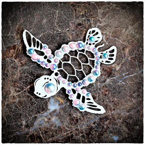 Beautiful Board Small Sea Turtle Laser Cut Chipboard