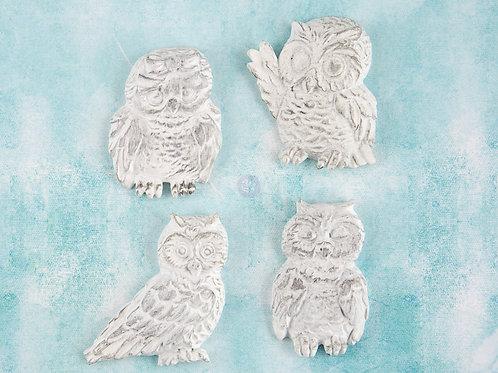 Prima Ingvild Bolme Treasures Resin Owls