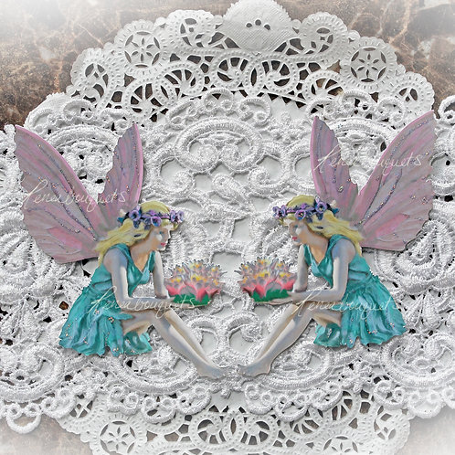 Reneabouquets Large Fairy Tale Premium Paper Die Cuts~ Lily