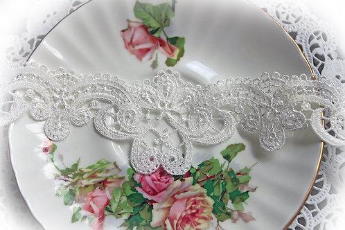 Bridesmaid Lace~White