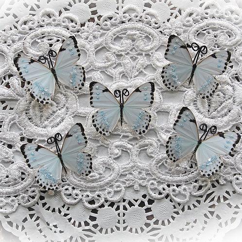 Tiny Treasures Tiny Dancer Premium Paper Glitter Glass Butterflies