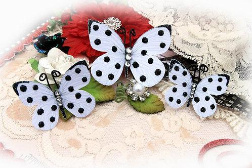 Polka Dots & Bling Butterflies