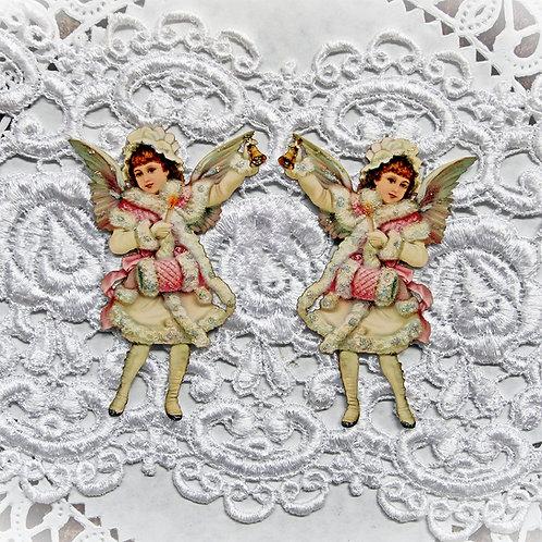 Victorian Winter Angel Premium Paper Die Cuts Set