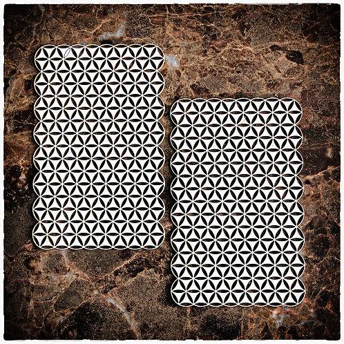 Beautiful Board Pinwheel Elements Laser Cut Chipboard