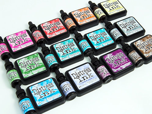 Tim Holtz Distress Inks Full Size New Colors