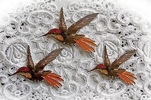 Hummingbird Premium Paper Die Cut Set Of 3