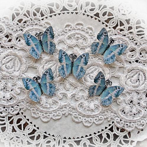 Tiny Treasures Blue Quartz Premium Paper Glitter Glass