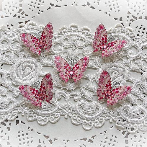 Tiny Treasures Love Potion Premium Paper Glitter Glass