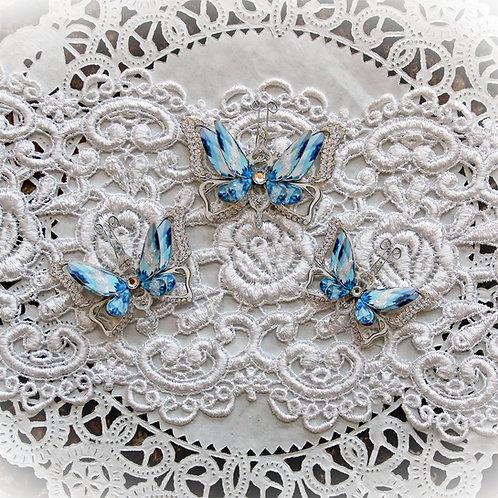Ice Princess Anna Double Layer Premium Paper Butterflies