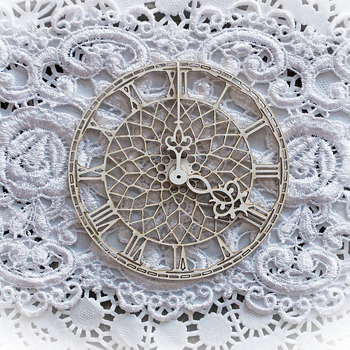 Beautiful Board Small Big Ben Clock Face Laser Cut Chipboard