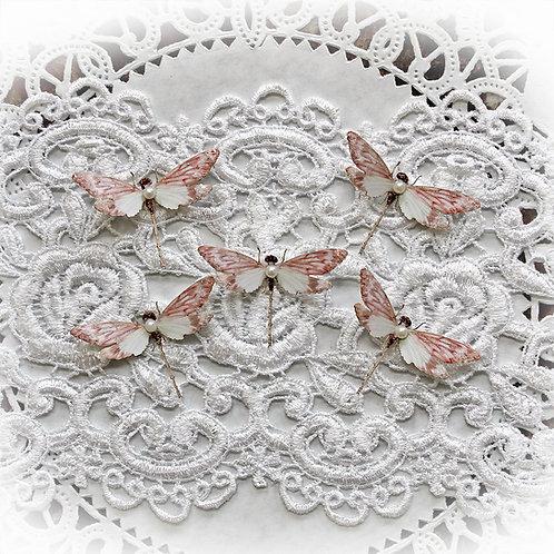 Tiny Treasures Premium Paper Lissie Glitter Glass Dragonflie