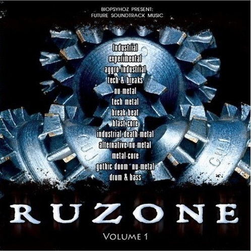 CD RUZONE#1 / FUTURE SOUNDTRACK MUSIC