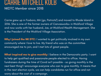 NKDTC Monthly Giving Supporter: Carrie Mitchell Kolb