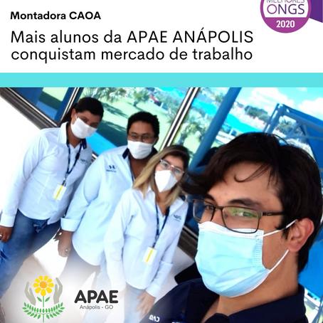 APAE ANÁPOLIS promove inclusão de deficientes no mercado de trabalho