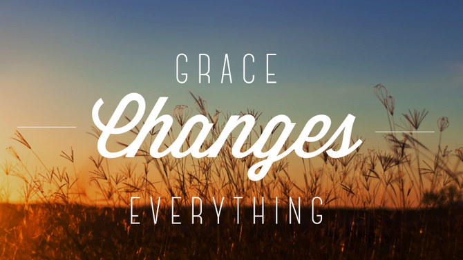 Don't Forget to say your  Grace!